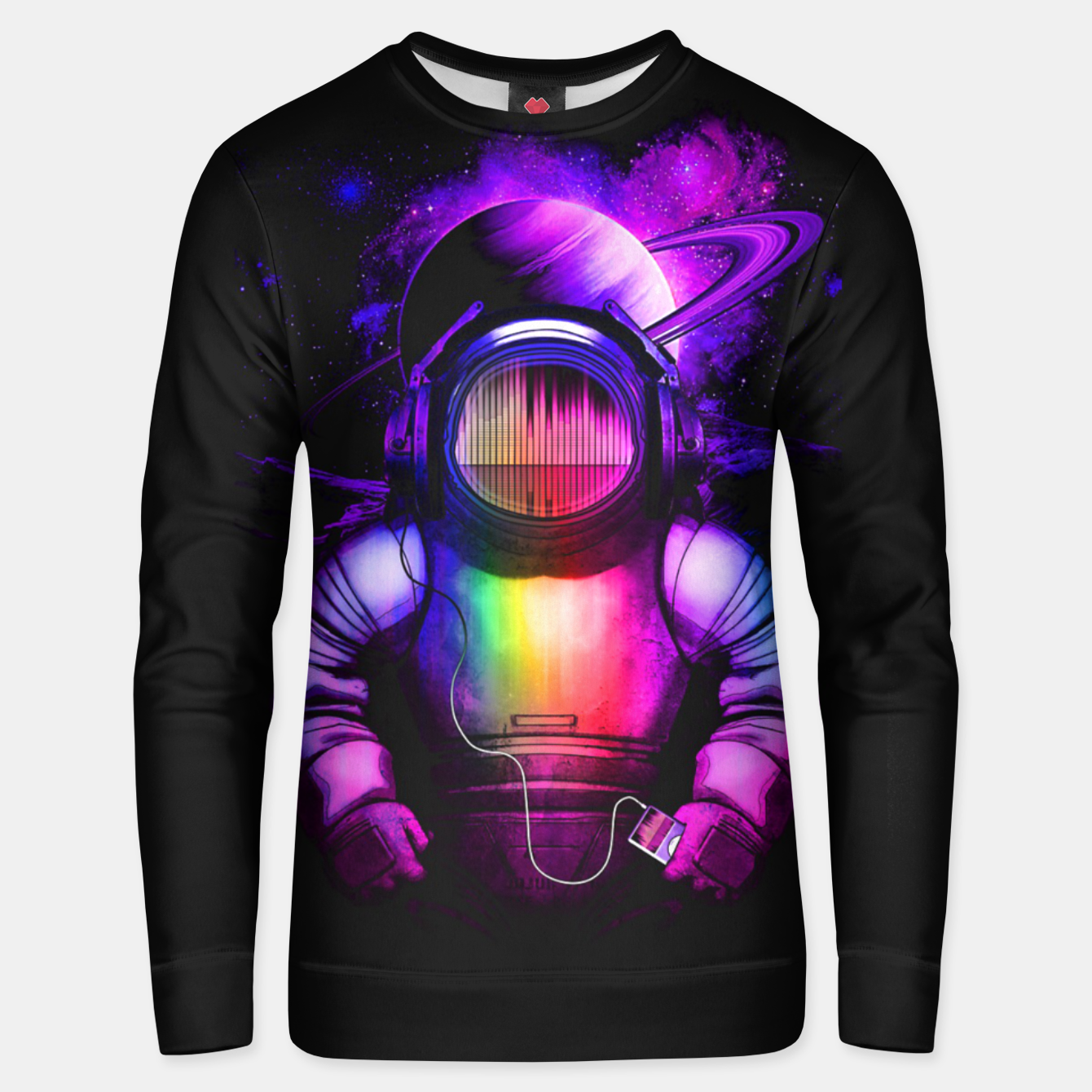 Image of Music in Space Unisex sweater - Live Heroes