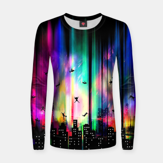Thumbnail image of Without Gravity Women sweater, Live Heroes