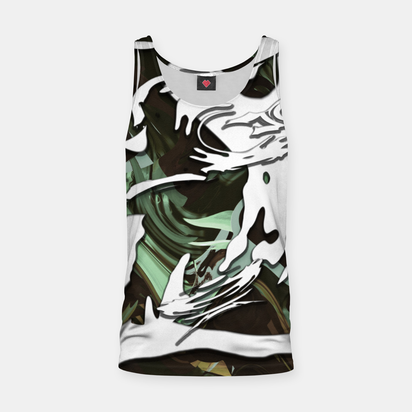 Image of Whiteness Tank Top - Live Heroes