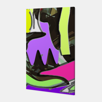Blatant colours Canvas thumbnail image