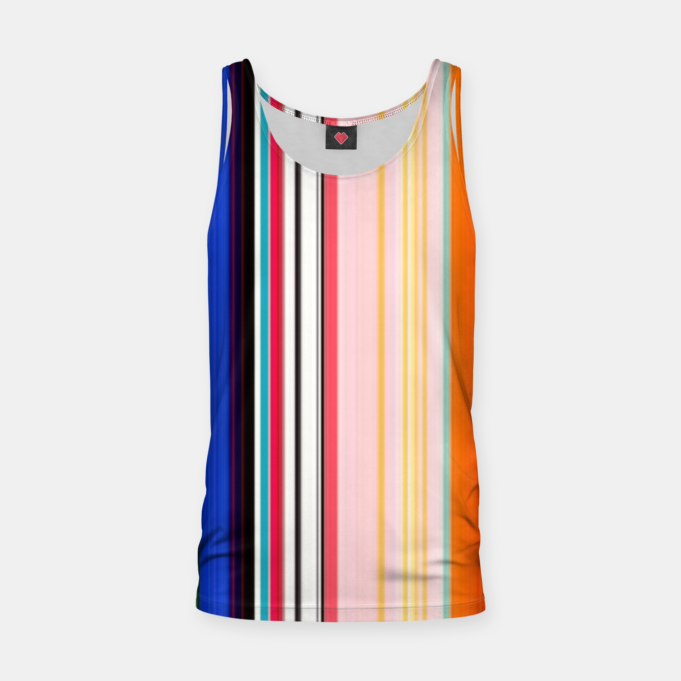 Image of Colorful Bold Stripe Print Tank Top - Live Heroes