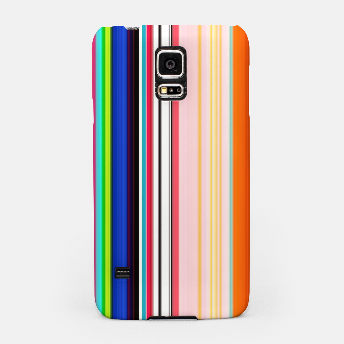 Image of Colorful Bold Stripe Print Samsung Case - Live Heroes