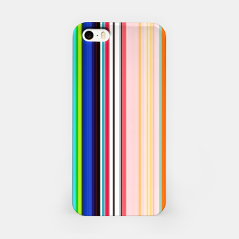 Imagen en miniatura de Colorful Bold Stripe Print iPhone Case, Live Heroes