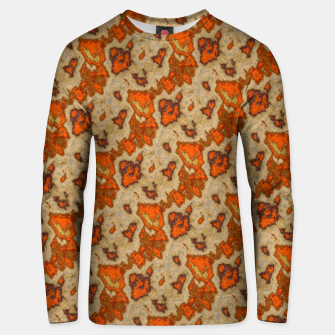 Thumbnail image of Earthy Tones Animal Skin Pattern Unisex sweater, Live Heroes