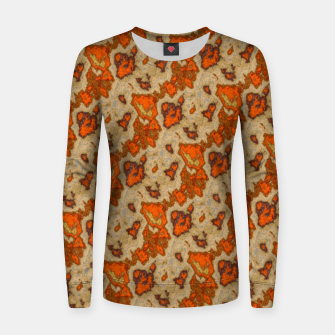 Thumbnail image of Earthy Tones Animal Skin Pattern Women sweater, Live Heroes