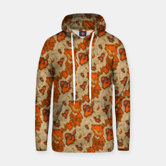 Thumbnail image of Earthy Tones Animal Skin Pattern Hoodie, Live Heroes