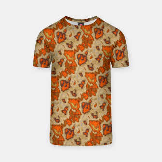 Earthy Tones Animal Skin Pattern T-shirt thumbnail image