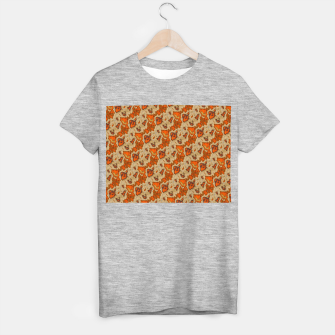 Thumbnail image of Earthy Tones Animal Skin Pattern T-shirt regular, Live Heroes