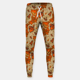 Earthy Tones Animal Skin Pattern Sweatpants thumbnail image