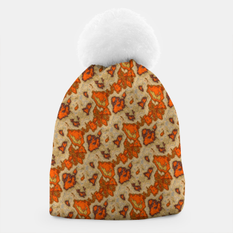 Thumbnail image of Earthy Tones Animal Skin Pattern Beanie, Live Heroes