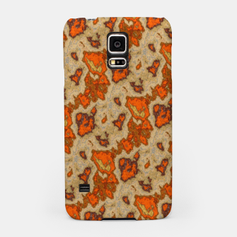Earthy Tones Animal Skin Pattern Samsung Case thumbnail image