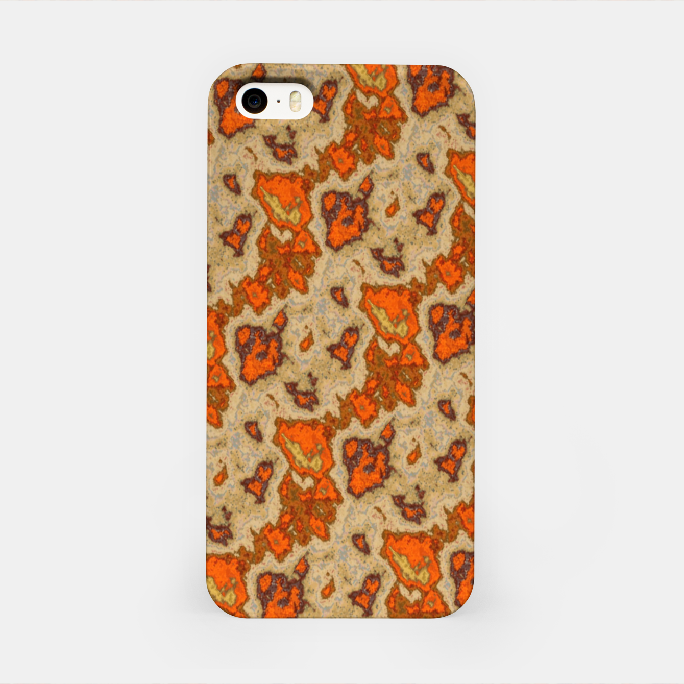 Image of Earthy Tones Animal Skin Pattern iPhone Case - Live Heroes