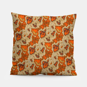 Thumbnail image of Earthy Tones Animal Skin Pattern Pillow, Live Heroes