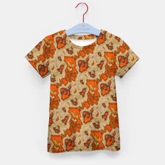 Thumbnail image of Earthy Tones Animal Skin Pattern Kid's t-shirt, Live Heroes