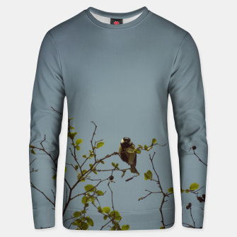 Great tit on a branch Unisex sweater thumbnail image