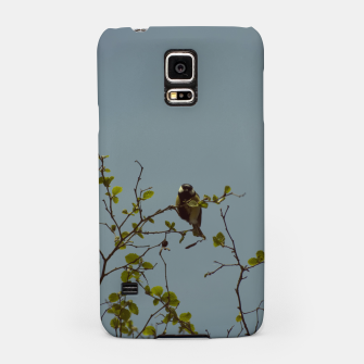 Great tit on a branch Samsung Case thumbnail image