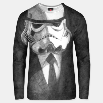 Thumbnail image of stormtrooper Unisex sweater, Live Heroes