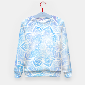 Thumbnail image of Mandala sky Kid's sweater, Live Heroes