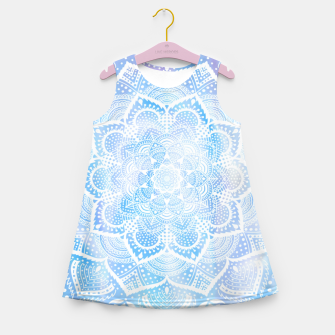 Thumbnail image of Mandala sky Girl's summer dress, Live Heroes