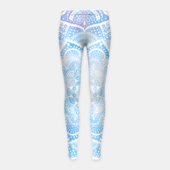 Thumbnail image of Mandala sky Girl's leggings, Live Heroes