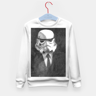 Thumbnail image of stormtrooper Kid's sweater, Live Heroes