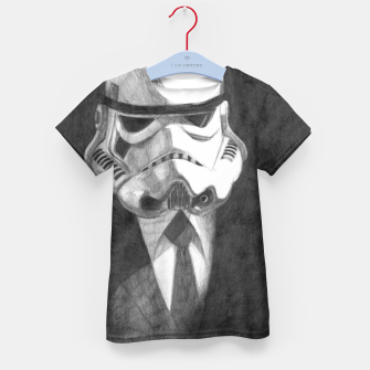 Thumbnail image of stormtrooper Kid's t-shirt, Live Heroes
