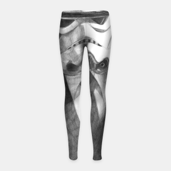 Thumbnail image of stormtrooper Girl's leggings, Live Heroes