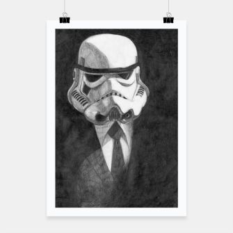 Thumbnail image of stormtrooper Poster, Live Heroes