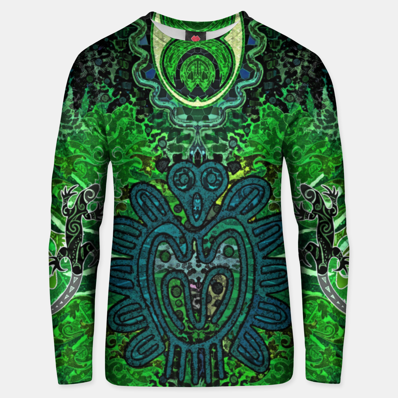 Image of Jungle heart Unisex sweater - Live Heroes