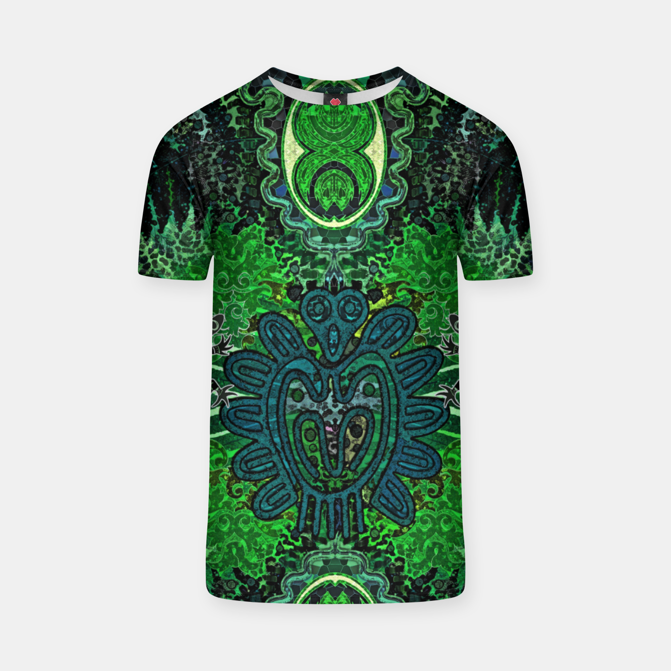 Image of Jungle heart T-shirt - Live Heroes