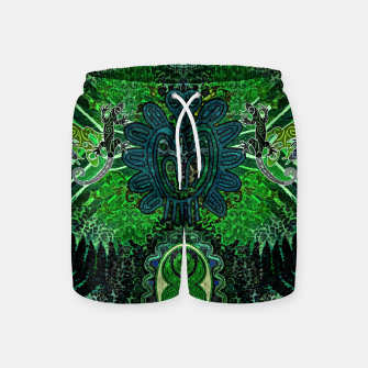 Jungle heart Swim Shorts thumbnail image