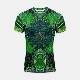 Jungle heart Shortsleeve rashguard thumbnail image