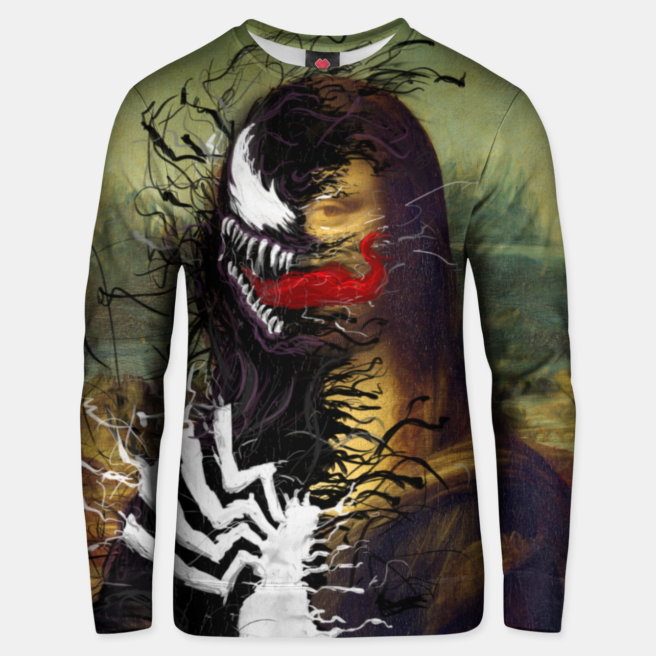 Image of Mona Lisa Venom Unisex sweater - Live Heroes