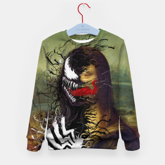 Mona Lisa Venom Kid's sweater thumbnail image