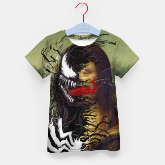 Thumbnail image of Mona Lisa Venom Kid's t-shirt, Live Heroes