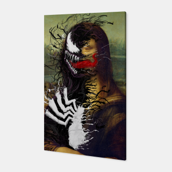 Mona Lisa Venom Canvas thumbnail image