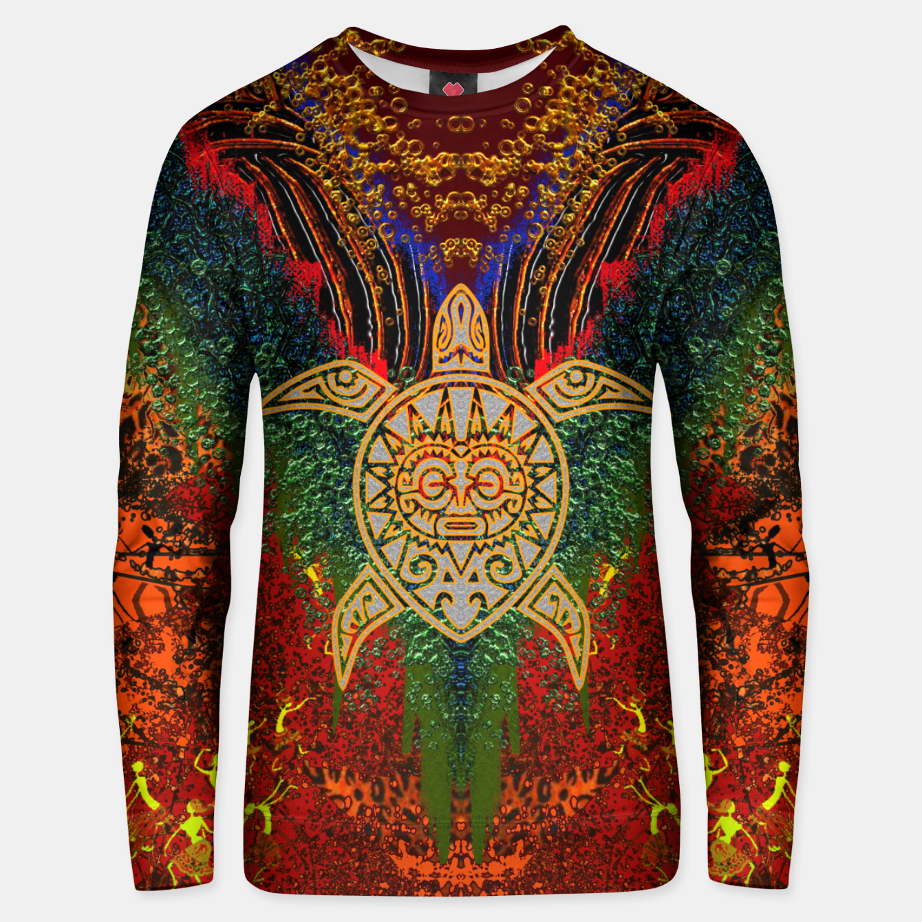 Image of  Turtle Worship Unisex sweater - Live Heroes