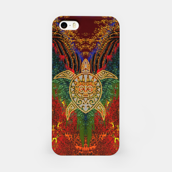 Turtle Worship iPhone Case thumbnail image