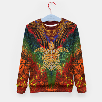 Miniatur  Turtle Worship Kid's sweater, Live Heroes