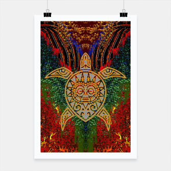 Thumbnail image of  Turtle Worship Poster, Live Heroes