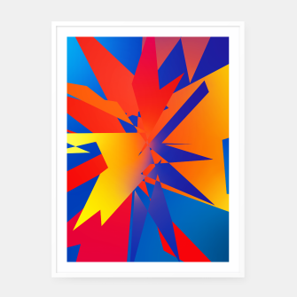 Thumbnail image of Abstraction Square no 03 Plakaty w ramie , Live Heroes