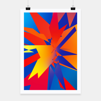 Thumbnail image of Abstraction Square no 03 Plakat, Live Heroes