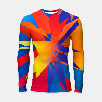 Thumbnail image of Abstraction Square no 03 Rashguard długi rękaw, Live Heroes