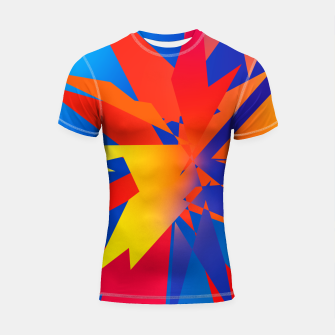 Thumbnail image of Abstraction Square no 03 Rashguard krótki rękaw, Live Heroes