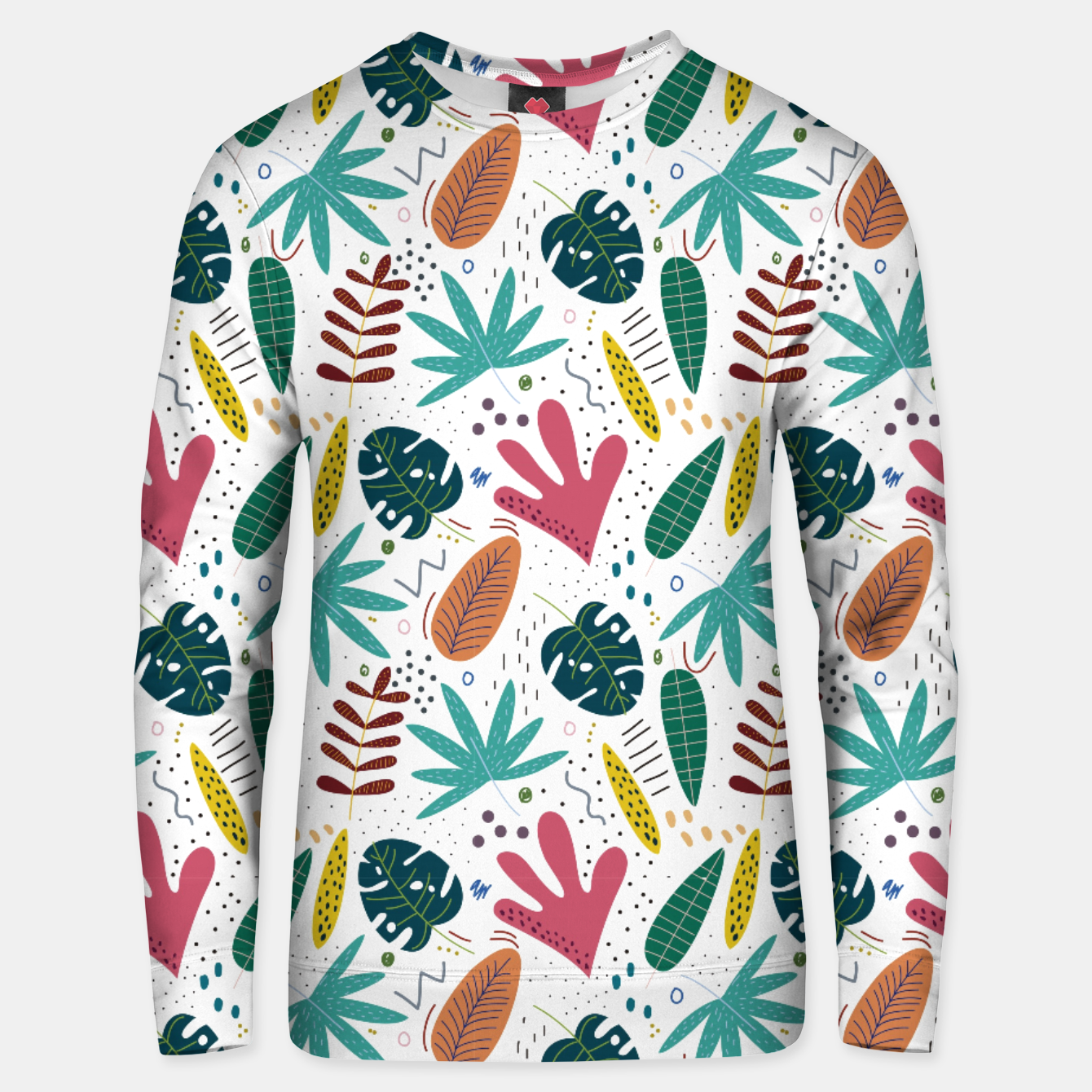 Image of Exotic leaves Sudadera unisex - Live Heroes