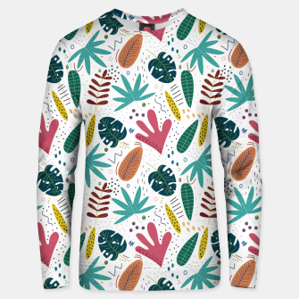 Exotic leaves Sudadera unisex thumbnail image