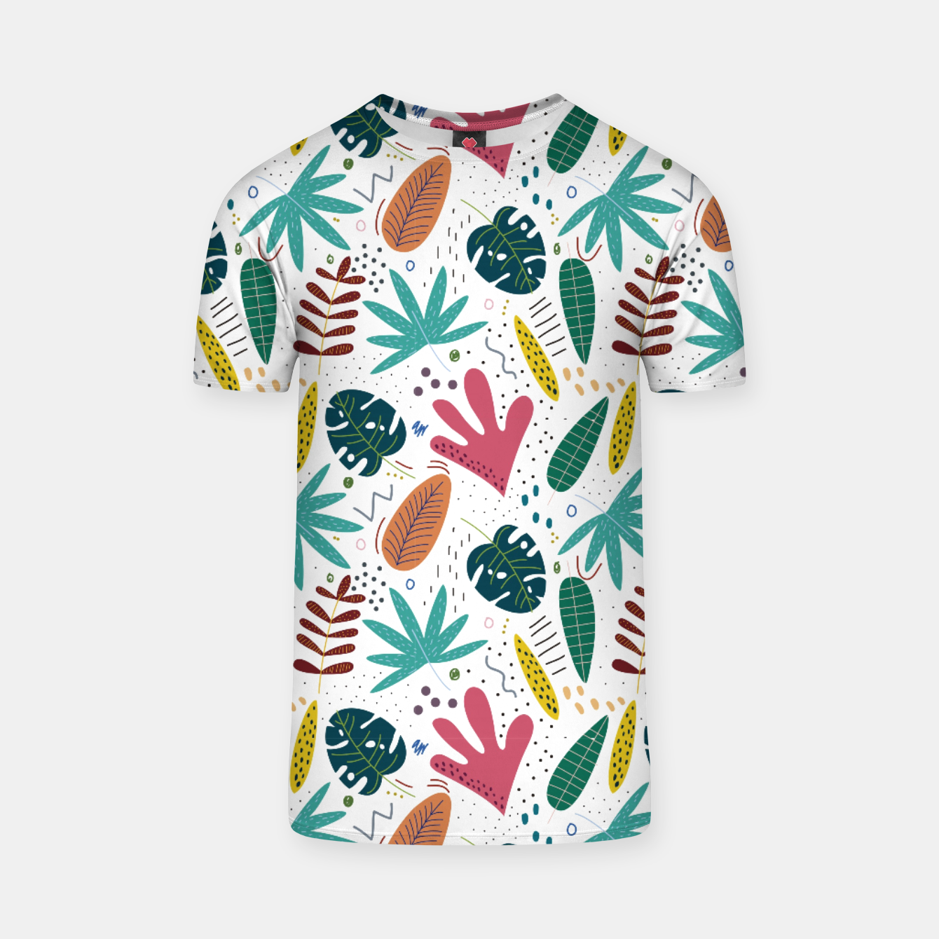 Image of Exotic leaves Camiseta - Live Heroes