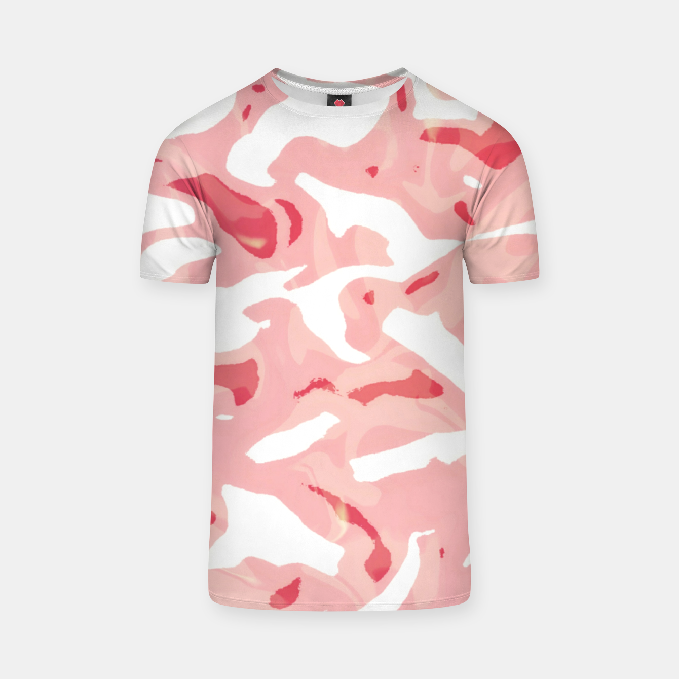 Image of Cute pink camouflage T-shirt - Live Heroes