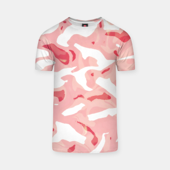 Thumbnail image of Cute pink camouflage T-shirt, Live Heroes