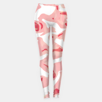 Thumbnail image of Cute pink camouflage Leggings, Live Heroes